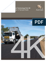 AGPT04K-18 Guide to Pavement Technology Part-4K Selection- Design Sprayed Seals