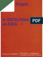 1844 - A Ideologia Alemã Vol. I - Editorial Presença OCR