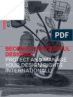 (GoogleBook) Become a Successful Designer – Protect and Manage Your Design Rights Internationally (Birkhäuser 2013)