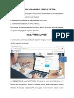 Manual de Usuario Del Campus Virtual Resumido