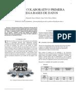 Primera Entrega Bases de Datos