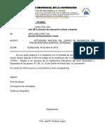 Plan de Trabajo de La Academia Municipal La Convencion