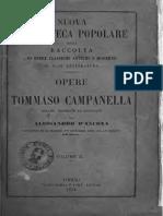 Tommaso Campanella Opere