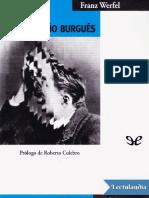 La muerte del pequeño burgués - Franz Werfel
