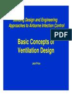Price Basic Concept of Ventilation Design