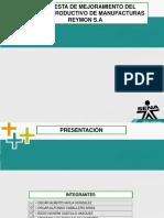 Plantilla Presentación Manufacturas Reymon S.A