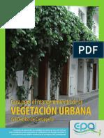Guía Para El Mantenimiento Del Arbolado Urbano en Cartagena