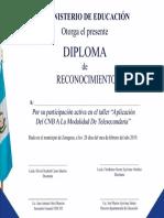 Diploma Que Faltaba