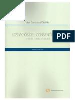 Vicios del consentimiento Error, fuerza y dolo.pdf