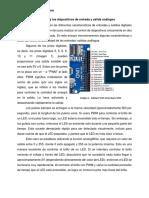 El Arduino y Los Dispositivos de Entrada y Salida Analogos