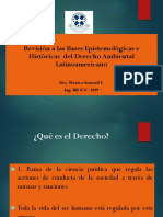 1º Clase Bases Epistemicas e Historicas Del Derecho Ambiental