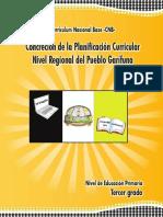 3º Grado Pueblo Garífuna 2017