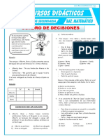 CUADRO DE DESICIONES