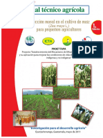Manual tecnico Agrícola