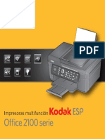 Impresoras multifuncion Kodax ESP office 2100 serie