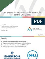 Propuesta Mejoras DCS DeltaV