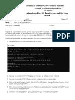 Laboratorio 01.- Arquitectura Del Servidor Oracle