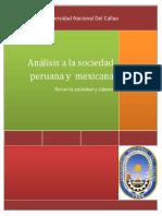Análisis a La Sociedad Peruana y Mexicana