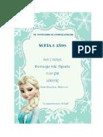 Invitacion Sofi