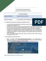 Instructivo Postulacion en Linea Mecs 2019 30082018