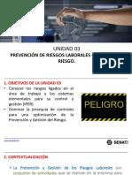 Seguridad e Higiene Industrial. Unidad 03