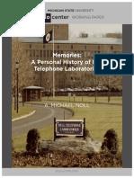 Memories Noll-Bell Labs