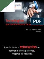 UUPC 2013-Tecnologias Que Revolucionan La Educacion