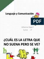 Clase Lenguaje y Comunicación Letra h