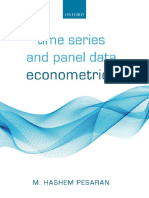 Pesaran-2015-TimeSeriesAndPanelDataEconometrics