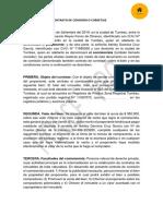 Contrato de Comisioìn - Intermediarios