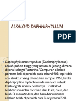 Alkaloid Daphniphyllum