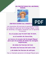 AFIRMACIONES PROTECTORAS DEL ARCANGEL MIGUEL.pdf
