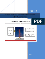 modelo matematico para metalurgia