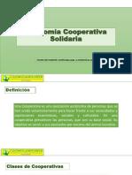 Cooperativismo Clase 1