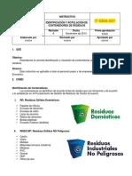 Instructivo Identificación y Rotulación de Contenedores