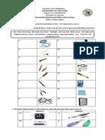2nd Quarterly Exam Use of Hand Tools0 10172017