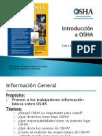 Intro Osha Español