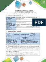 Guía de Actividades y Rúbrica de Evaluación - Segunda Etapa - Condiciones Del Agua Para Consumo Humano