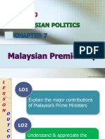 CHAPTER 7 - Malaysian Premiership