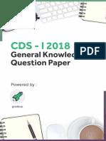 CDS-I 2018 GK Question Paper (English).PDF-54