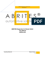 User Manual Abrites Commander for Nissan