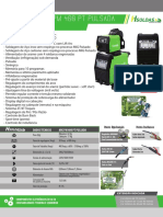 Folder Técnico Inversora MIG PM 400 PT H SOLDAS