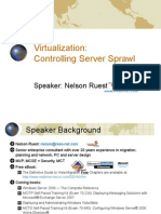 Virtualization-Controlling Server Sprawl Final