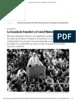 La Escuela de Fráncfort y El 'Cóctel Molotov' _ Babelia _ EL PAÍS