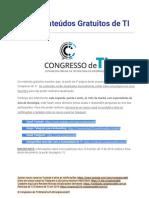 Congresso de TI - 225 Conteúdos Gratuitos