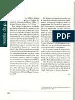 Reseña de Publicaciones