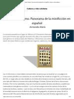 El Universo Mínimo. Panorama de La Minificción en Español _ Cultura y Vida Cotidiana