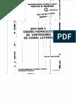 DISEÑO HIDRAULICO DE VERTEDORES DE CANAL LATERAL.pdf