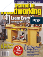 Get Started in Woodworking