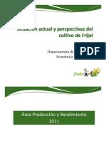 situacion actual y prespectivas para el cultivo de frijol